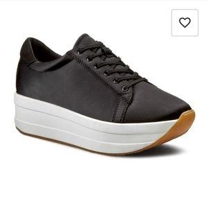 Vagabond Size 9 Black Casey Sneakers